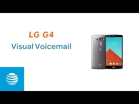 Visual Voicemail on your LG G4 | AT&T Wireless