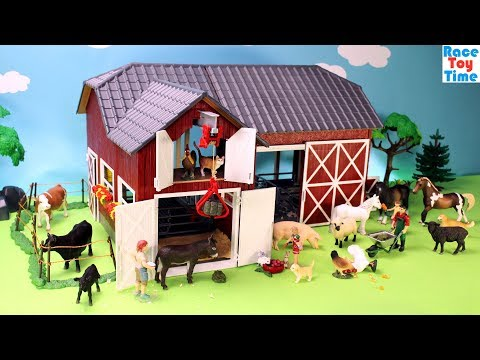 Xxx Mp4 Schleich Farm World Red Barn Playset Fun Farm Animals Toys For Kids 3gp Sex