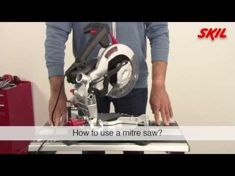 How to use a mitre saw?
