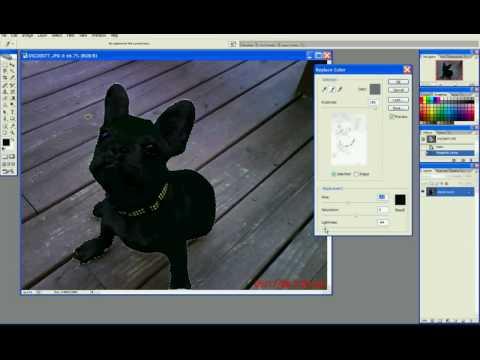 Replacing white with black in Adobe CS2.avi