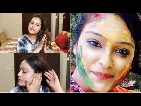 Amazing Pre and Post Skin and Hair Tips For Holi