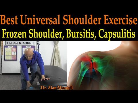 Best Universal Shoulder Exercise for all Ages (Frozen Shoulder, Bursitis, Capsulitis) - Dr Mandell