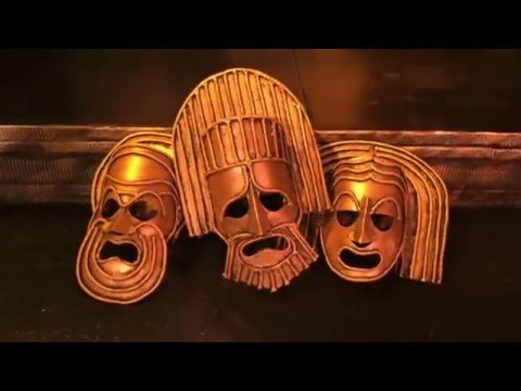 Make a Greek Mask with Perry Kroeger