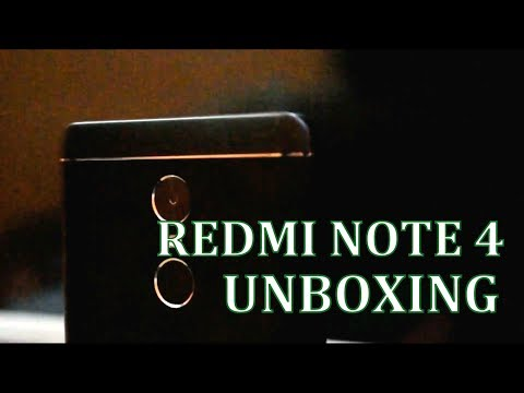 Redmi Note 4 Unboxing🙂🙂 | 32Gb Rom | 3GB Ram | Hands on | First Look | Hindi/English
