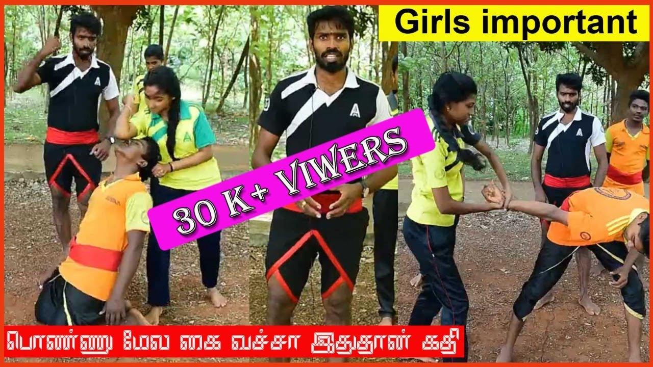 Girls Self Defence Techniques/Varama Adimurai Self Defence/ Lemuria/ Kalaripayattu/ Varma Kalai