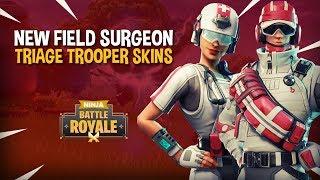 *NEW* Field Surgeon & Triage Trooper Skins!! - Fortnite Battle Royale Gameplay - Ninja & Nickmercs