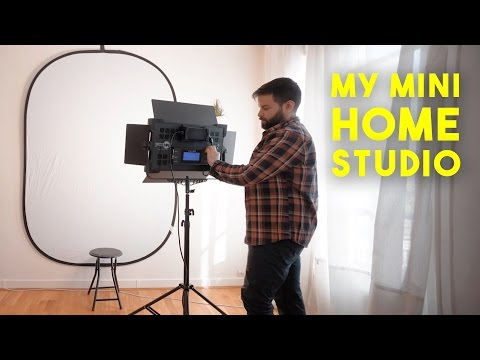 How to Set Up a Mini Home Photography Studio