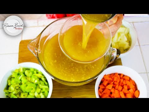 Chicken Broth CLASSIC BY SCRATCH RECIPE