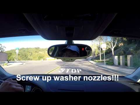 Audi A3 8V Mod | episode 4 | Windshield Washer Sprayer/ Spray Nozzle Replacement