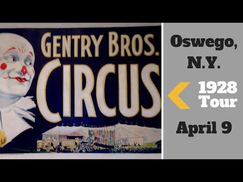 Gentry Bros. Circus ~ 1928 Tour