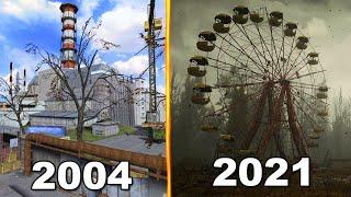 Evolution of Chernobyl Games 2004-2021