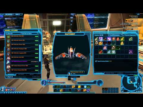 SWTOR - GIS Galactic Solutions Industries reputation vendor