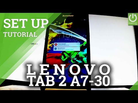 How to Set Screen Lock on LENOVO Tab 2 A7-30 - Pattern & Password