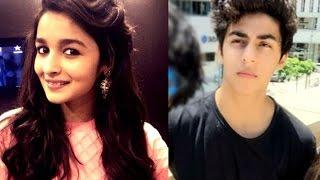 OMG ! Alia Bhatt Finds Aryan Khan Very Hot !