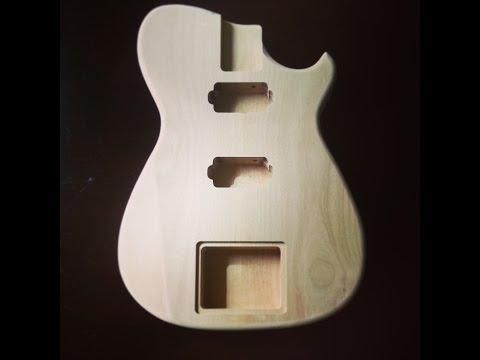 Building Custom Guitars with Templates #1