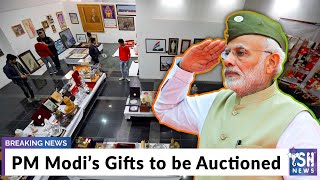 PM Modi's Gifts to be Auctioned