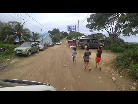 Roatan Road Trip in 4K - Mayan Eden to Airport