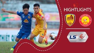QUẢNG NAM vs. THANH HÓA - Nhẹ nhàng tiễn đối thủ rời Tam Kỳ | Highlights V-League 2020
