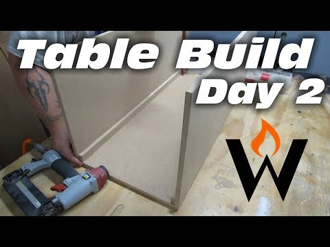 MAKE A TABLE - Making the base boxes | Day 2