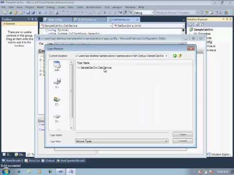How to develop/configure WCF Service for NetTcpBinding