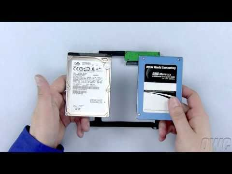 13-inch MacBook Pro Mid 2010 Data Doubler 2nd Hard Drive/SSD Installation Video