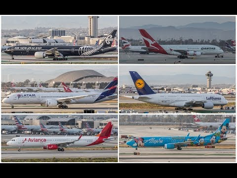 Plane Spotting @ LAX - May 2018 - Part 1
