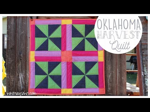 Oklahoma Harvest | Full Quilt Tutorial & Arteza GIVEAWAY {CLOSED} | Whitney Sews