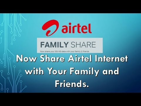 How to share Airtel 3g or 4g data with your mobile to another mobile having airtel sim card