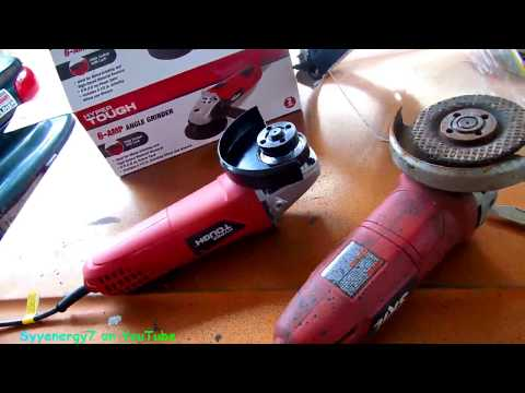 Fixes for your Angle GRINDER, How to