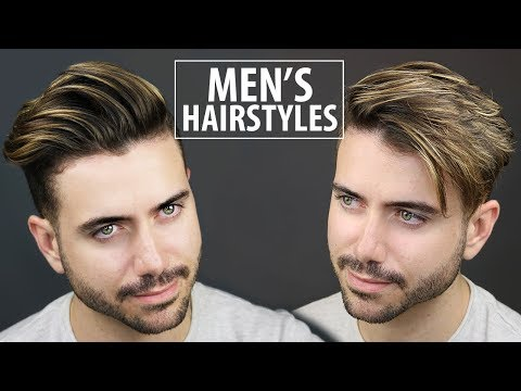 2 Quick and Easy Hairstyles for Men | Men's Hairstyle Tutorial | ALEX COSTA