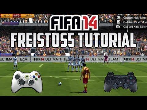 FIFA 14 FREISTOSS TUTORIAL - [XBOX - PS3 - PC] DEUTSCH - HD