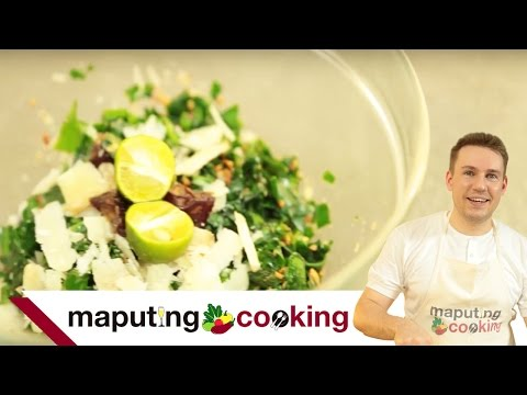 Healthy Filipino Kale Salad Recipe | Filipino Cooking by Chris Urbano