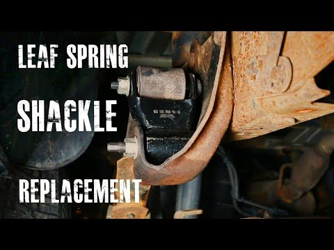 Leaf Spring Shackle Replacement