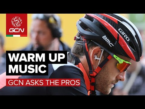What Music For Warming Up? | GCN Asks The Pros At The Giro d'Italia