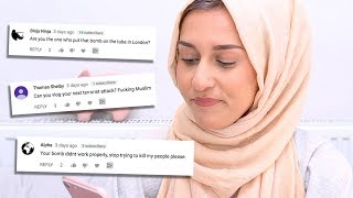READING TERRORIST COMMENTS..