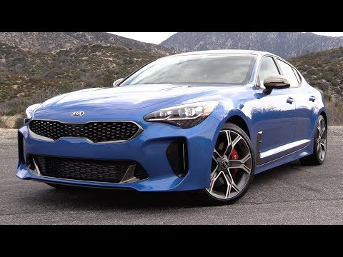 2018 Kia Stinger GT: Start Up, Test Drive & In Depth Review