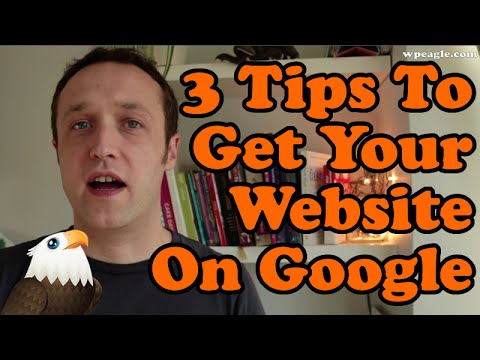 3 Tips To Get Your Wordpress Website On Google for FREE