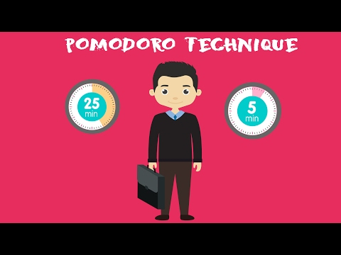 Pomodoro Technique - Work Effectively | Time Management Tips