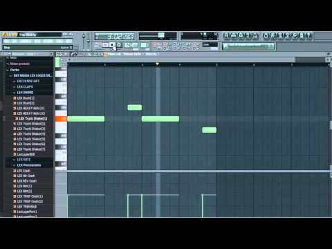 How to Make a Trap Beat in FL Studio 10(Lex Luger)