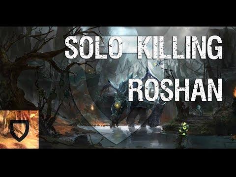The Best Roshan Killer In Dota 2 | How To Play Dota 2 | PVGNA.com