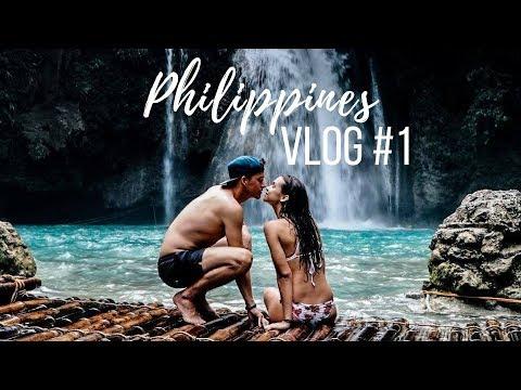 LOVE LIFE PASSPORT | Philippines Vlog #1 🇵🇭 | MOALBOAL, OSLOB, KAWASAN FALLS