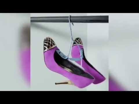How to DIY the Ultimate Shoe Hangers