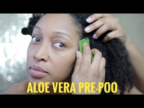 Aloe Vera Pre-Poo | Solution for dry, itchy scalp??