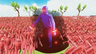 1 Dark Peasant Vs 1000000 Normal Peasants Totally Accurate Battle Simulator