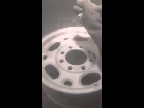 Aluminum Oxide Blasting Aluminum Wheels