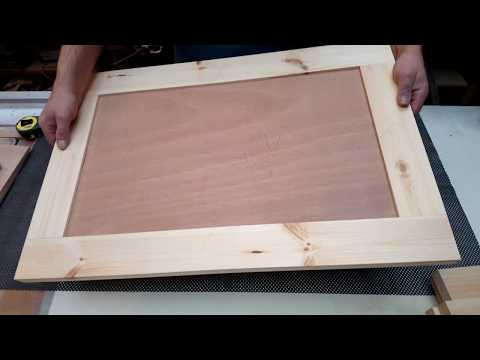 Making Shaker Style Cabinet doors with a Festool Domino DF700