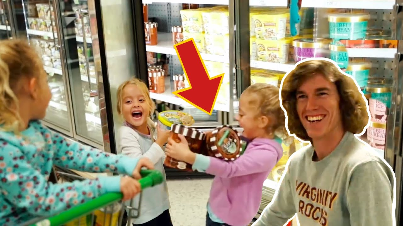 Triplets Buy Whatever They Want!