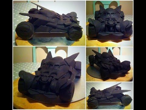 Bat mobile cake (Batman v Superman)