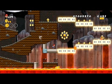 Mario and the Glow Blocks REVISITED New Super Mario Bros Wii Custom Level (1080p60fps)