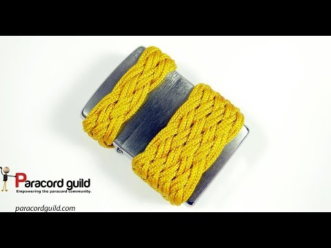 Paracord Zippo lighter wrap